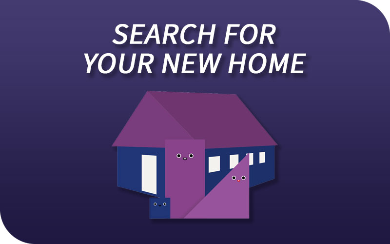 Register and Search for your new home!